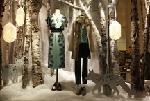 Visual Merchandising Window Design Inspirations - Snow / by WindowsWear