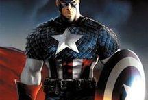 superheros / by Elizabeth Whiting