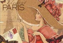 Vintage Paris / by Cathy Childs Morrison