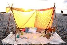 tee pees, forts & tents / by Knit Collage