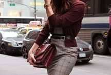 Style -  Office time / Business Dress Code Outfits for the Office Executive woman Moda para la oficina