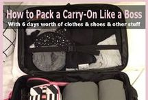 Travel: To Pack, To Pack, To Pack / What and how to pack for travel
