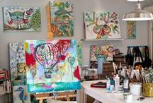 Artists and their Studios / Art / by Donna