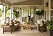 Patios,Sunrooms and Porches / by karen kleyla designs
