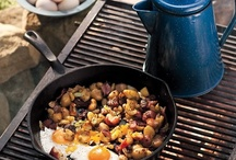 Campfire Cooking / What is it about cooking over a campfire and eating outdoors that makes food taste better?