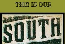 """This Is {OUR} South / """"I still believe in chivalry and civility. I am a face in the Southern collage of  Gentlemen and scholars, belles and writers,  Soldiers and sharecroppers, Cajuns and Creoles, Celts and Germans, freedmen and slaves. We are all the South. The South...My home, my beautiful home. My culture, my destiny, my heart. I am... a Southerner.""""  / by Lee Norris {SOUTHERNdrawl}"""