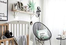 Nursery inspiration / Ideas for newborn nursery. Lots of beautiful designs for boys, girls and gender neutral nurseries.