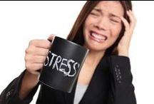 stress less / by Lindsey Johnson