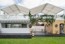 GEORGEOUS | At The Races / Beyond the stables before the track, beautiful marquees created by us.