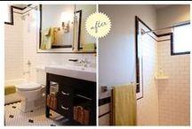 5701 Boys' Bathroom / Classic black and white / by Jennifer Mendelsohn