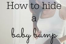 How to Hide the Baby Bump