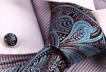 Ties, ties and more ties / A collection of ties approved by Vizoni Uomo stylists to show whats currently in style and provide ideas on making outfits match.