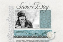 Scrapbooking / layout ideas, free downloads and digital scrapbooking kits I'd like to own. / by Jennifer Boutet