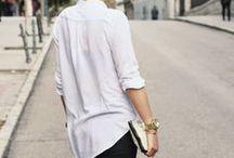Casual Street Style / feminine wardrobe, capsule wardrobe, effortless clothing for women, easy street style