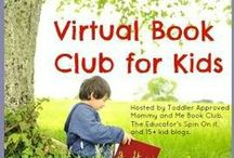 Virtual Book Club for Kids / Toddler Approved and 20+ other bloggers host a monthly Virtual Book Club for kids. Each month we choose a specific author to spotlight. We read the book with our kids, do book related crafts and activities, and then we share them on our blogs. We would love to invite you to join us too! https://www.facebook.com/VirtualBookClubForKids / by Kristina @ Toddler Approved