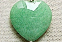 Aventurine - Heart Chakra Stone / An extremely positive stone, green aventurine enhances creativity and promotes compassion and empathy. Resonating with our heart chakra, green aventurine is a harmonizer and helps to make us stronger on the emotional level.This is a very beneficial stone to wear during pregnancy as it is believed to help maintain a healthy environment for the fetus. Green aventurine is also good to wear when going through chemotherapy or radiation treatments.  / by Crystal Life Technology, Inc.