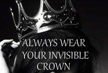 Princess !  / Lift your head up princess, if not the crown falls Princesse Crown, couronne, tiara, fairy tale, diadème, sparkle, glitter, tutu, dress, castel, château, dream, Queen, kingdom,