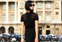 All Black Everything / All Black style Fashion