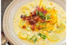 Soups, stews / One pot meals