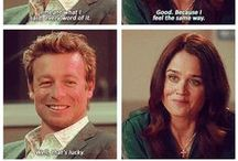 The Mentalist ♥ / Here's my Mentalist board, finally...which is mostly Jisbon love, to be honest, because we ALL knew it would happen eventually & now it has & it's time to celebrate with a whole board full of happy, shippy Jisbon moments! Eventually I'll get to pins for everyone else, when I stop squeeing over the finale! ♥