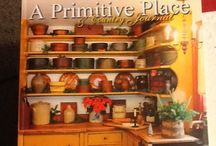 Primitive living & decorating / Everything primitive from decorating to furniture,to the home you build / by Elizabeth Horton-stratton