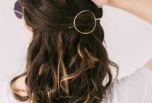 Easy Hairstyles / hair tutorials, easy hairstyles to do on yourself, hairstyles step by step, effortless hair, summer hairstyles, easy updos
