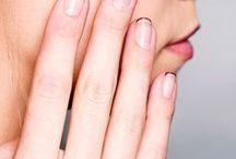 Minimal Manicures / modern manicures, minimal nail art, pretty nails