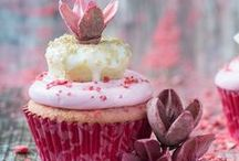 cake and cupcake