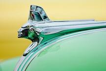 Hood Ornaments Vintage / Old car hood ornaments are a forgotten art form.  / by Velta Thomas