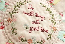 Sewing Projects - Embroidery ideas