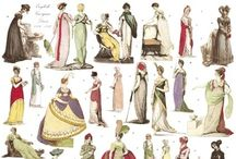 Fashion plates and fashion vintage advertising / by Ludovica Falzetta