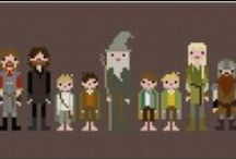 The Hobbit/LOTR - crafts and fun stuff / by Linda Pearman