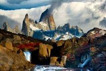 Beautiful Patagonia / Patagonia in Argentina and Chile are landscapes not to be missed!