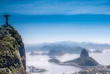 Brazil / Brazil's natural and cultural diversity makes it one of the most exciting Latin American destinations to visit. Wonderful beaches, majestic waterfalls, eclectic metropolis, and exotic rainforests are only a few of the many attractions of Brazil.  Let us take you there: http://www.latinamericaforless.com/brazil/