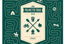 """Palmetto Trail Pale Ale / Palmetto Conservation and RJ Rockers Brewing Company combined their passions for the Trail and craft beer to create """"The Palmetto Trail Pale Ale."""" RJ Rockers is donating a portion of sales to help """"Finish the Trail."""""""