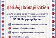 """Holiday Danspiration / Create YOUR """"Holiday Danspiration"""" board for a chance to win a $100 DDS Shopping Spree! / by Discount Dance Supply - Dance Apparel and Lifestyle"""