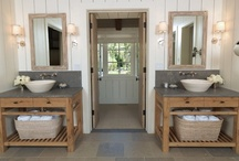 bathroom spaces / by tammy inman