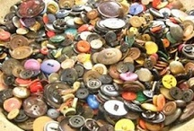BUTTON, button, who's got the button? / Button crafts, collections, and organization of buttons. / by Brenda Stephens