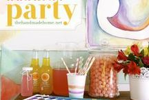 Partay. / Party themes and lots of useful hints and tips to be the hostess with the mostess! DIYs and tutorials for cute party decorations and lots of recipes for party favorites. / by Samantha Marie