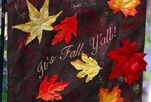 Fall. / Fall decor DIYs, Tutorials, and Recipes for Halloween, Thanksgiving, and fall in general. Think pumpkins, leaves, and all the lovely colors like orange, yellow, red, and brown that come with the season. / by Samantha Marie