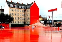 Colorful Copenhagen / All the inspiring colors of Copenhagen, Denmark