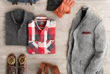 Men's Fashion | Dude Inspiration / The guy stuff I like and think my hubs would look good in and be on board with.