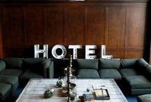 HOTEL INTERIOR / by Sean Finlay
