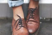 oxfords not brogues / girls wearing boys' shoes
