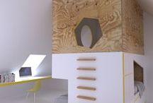 {DECO} lit superposé mezzanine // bunkbed