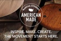 Martha Stewart American Made / These pins feature IBN members who participated in the Martha Stewart American Made contest.