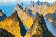 Magical Mountains / The best mountains and peaks around the world / by A Lady in London