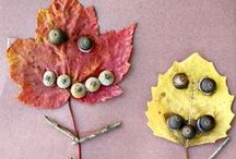 Nature Play Ideas / Fun ways to engage kids with nature.