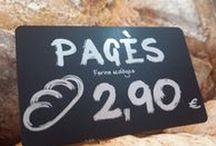 Pizarras Porta precios / Tarjetas y pizarras portaprecios para el punto de venta: pizarras charcutería, carnicerías, panaderías, pescaderías, ... negras rotuladas en blanco paratodo tipo de tiendas.