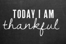Thanksgiving thankfuls / by Tonya Roberts